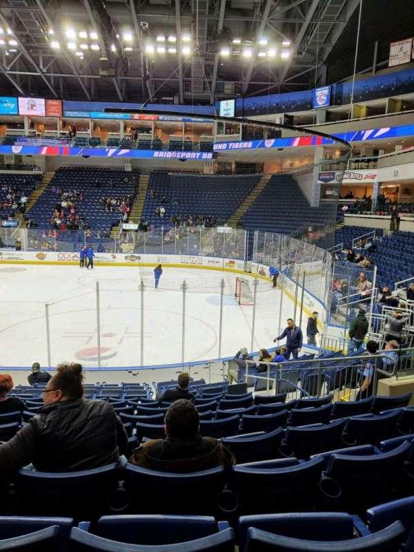 Webster Bank Arena, secção: 107, fila: K, lugar: 11