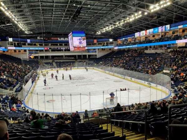 Webster Bank Arena, secção: 119, fila: S, lugar: 3