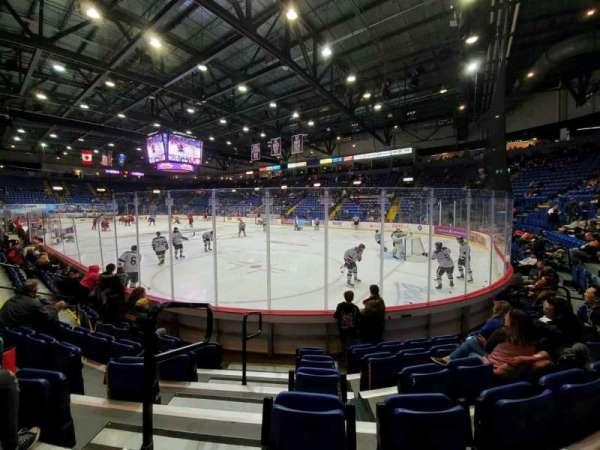 Santander Arena, secção: 113, fila: F, lugar: 9