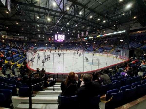 Santander Arena, secção: 112, fila: H, lugar: 15