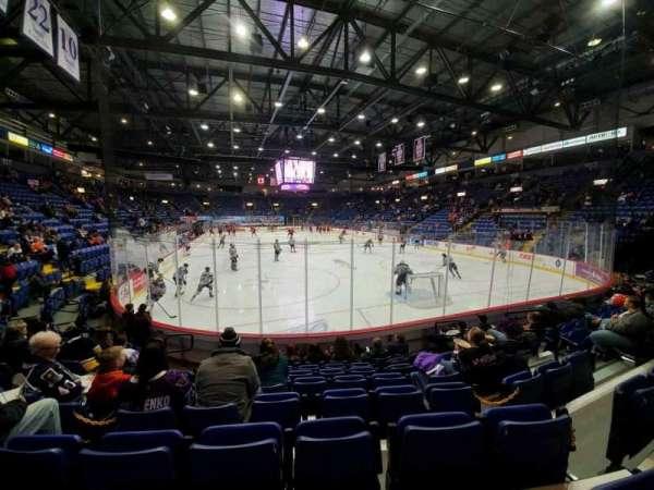 Santander Arena, secção: 112, fila: H, lugar: 9