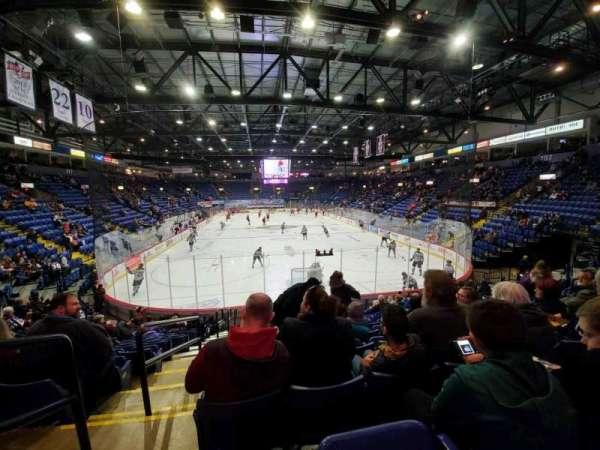 Santander Arena, secção: 111, fila: N, lugar: 13