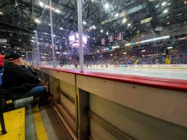 Santander Arena, secção: 114, fila: A, lugar: 6