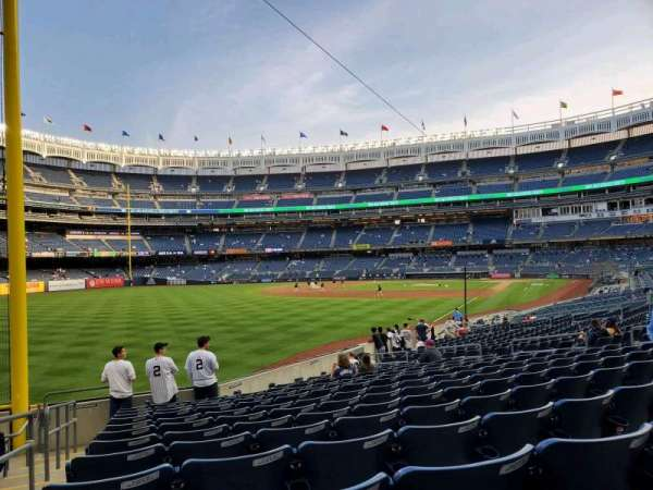 Yankee Stadium, secção: 131, fila: 16, lugar: 20