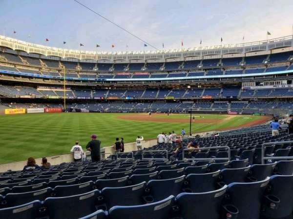 Yankee Stadium, secção: 131, fila: 16, lugar: 9