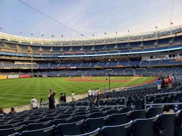 Yankee Stadium, secção: 131, fila: 16, lugar: 8