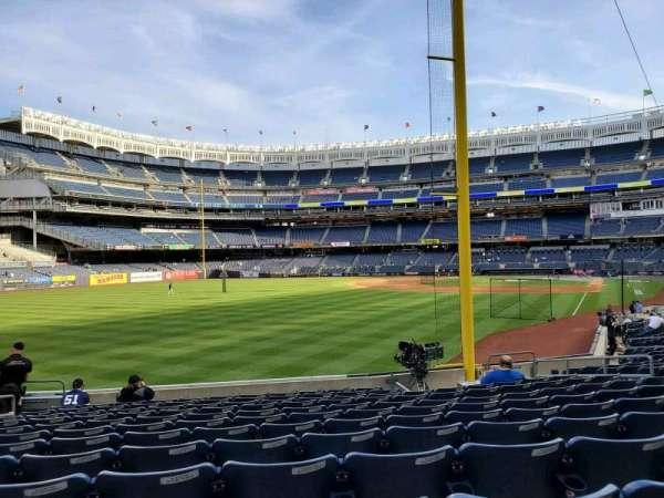 Yankee Stadium, secção: 132, fila: 12, lugar: 13