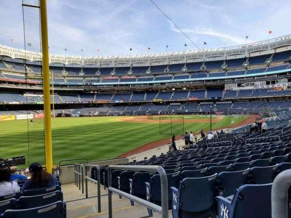 Yankee Stadium, secção: 132, fila: 12, lugar: 1