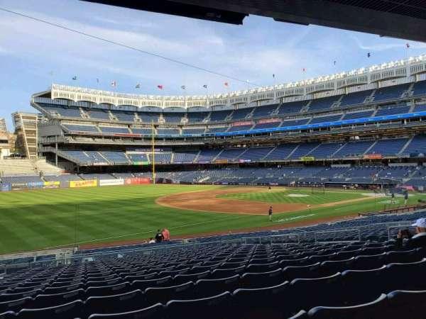 Yankee Stadium, secção: 128, fila: 17, lugar: 13