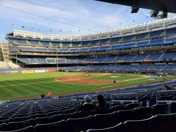Yankee Stadium, secção: 128, fila: 17, lugar: 7
