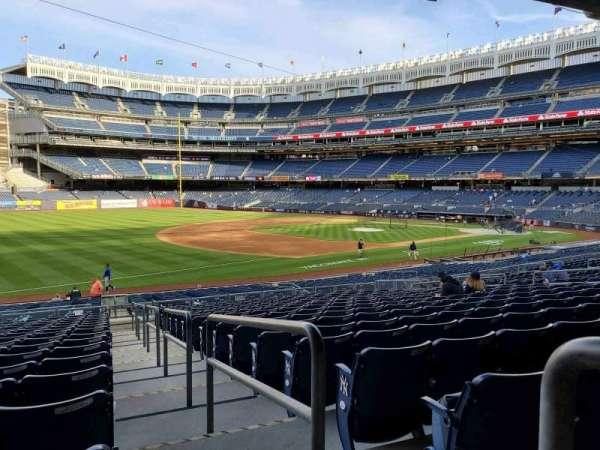 Yankee Stadium, secção: 128, fila: 17, lugar: 1