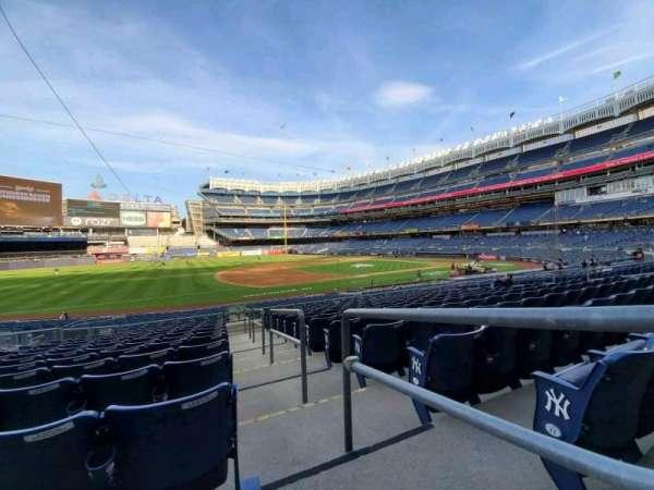 Yankee Stadium, secção: 127A, fila: 12, lugar: 1