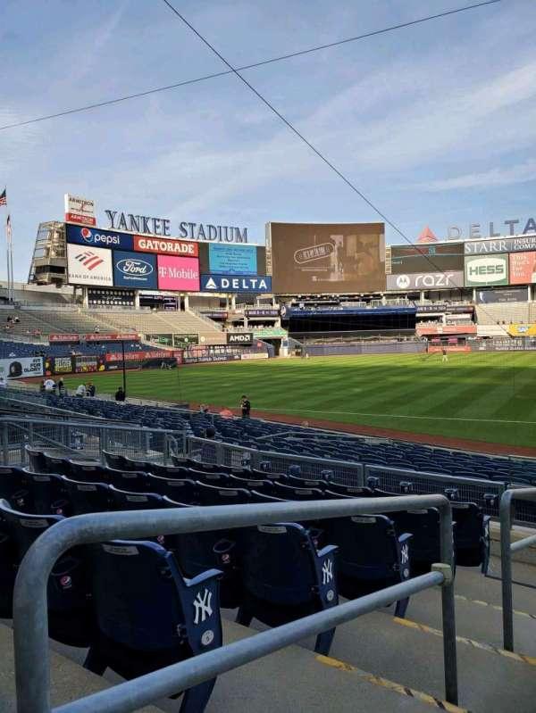 Yankee Stadium, secção: 126, fila: 7, lugar: 16