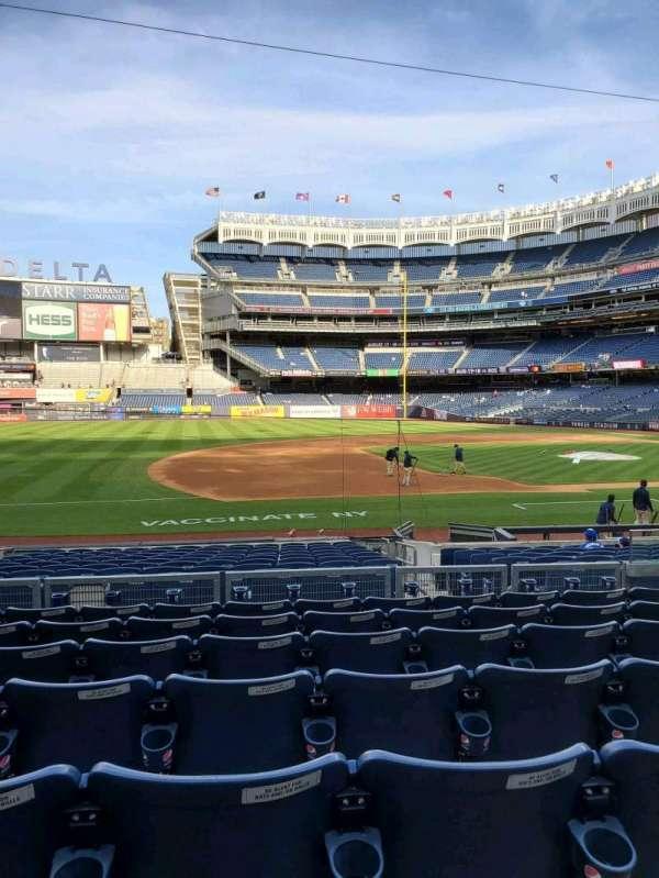 Yankee Stadium, secção: 126, fila: 7, lugar: 7
