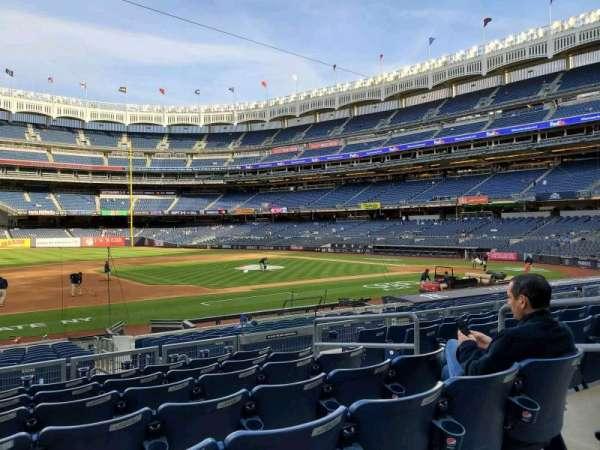 Yankee Stadium, secção: 126, fila: 7, lugar: 6