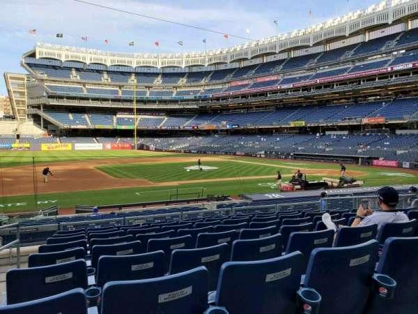Yankee Stadium, secção: 125, fila: 9, lugar: 14