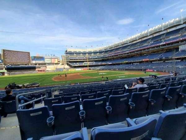 Yankee Stadium, secção: 125, fila: 9, lugar: 13