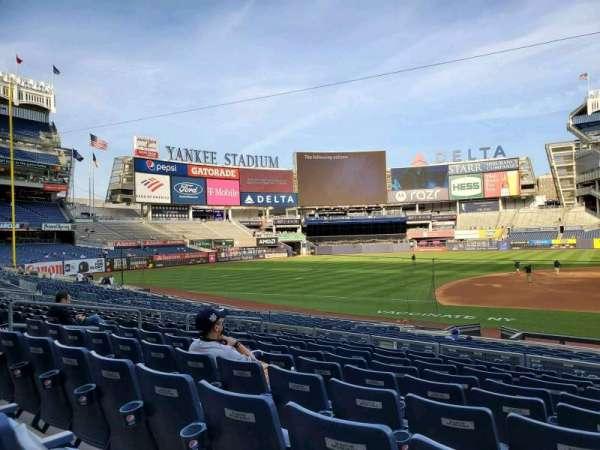 Yankee Stadium, secção: 125, fila: 9, lugar: 2