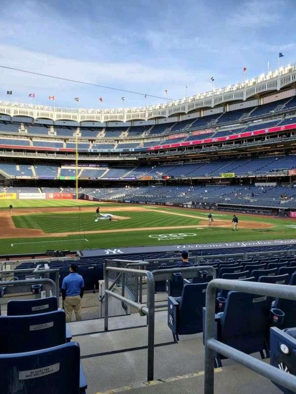 Yankee Stadium, secção: 125, fila: 9, lugar: 1