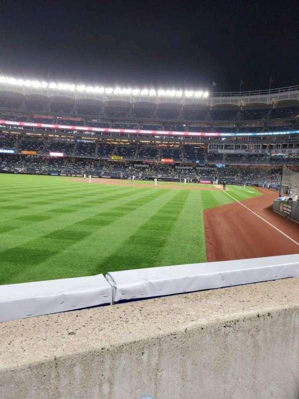 Yankee Stadium, secção: 132, fila: 1, lugar: 14
