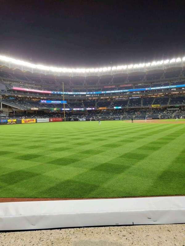 Yankee Stadium, secção: 132, fila: 1, lugar: 15