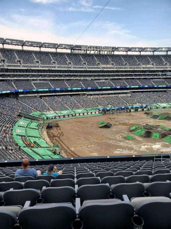 MetLife Stadium, secção: 244, fila: 14, lugar: 10