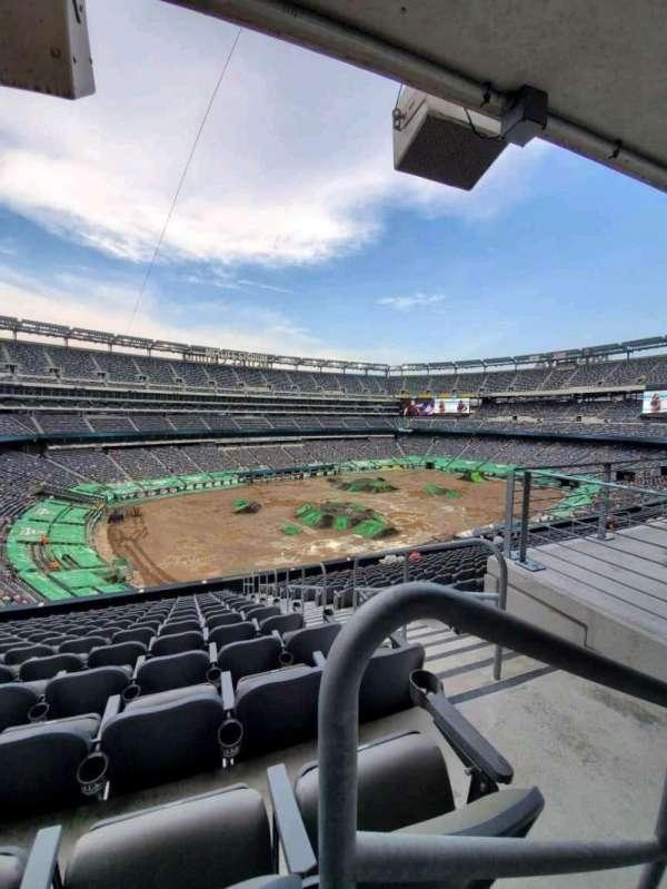 MetLife Stadium, secção: 244, fila: 14, lugar: 1