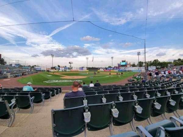 TD Bank Ballpark, secção: 103, fila: J, lugar: 11