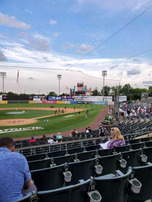 TD Bank Ballpark, secção: 201, fila: P, lugar: 15