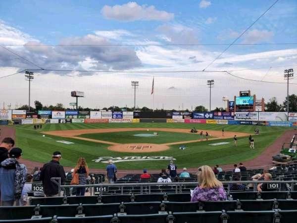TD Bank Ballpark, secção: 201, fila: P, lugar: 12