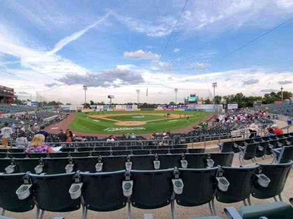 TD Bank Ballpark, secção: 201, fila: P, lugar: 5