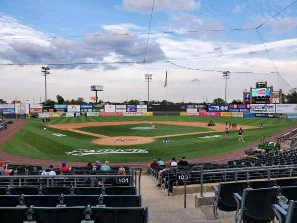 TD Bank Ballpark, secção: 201, fila: P, lugar: 1