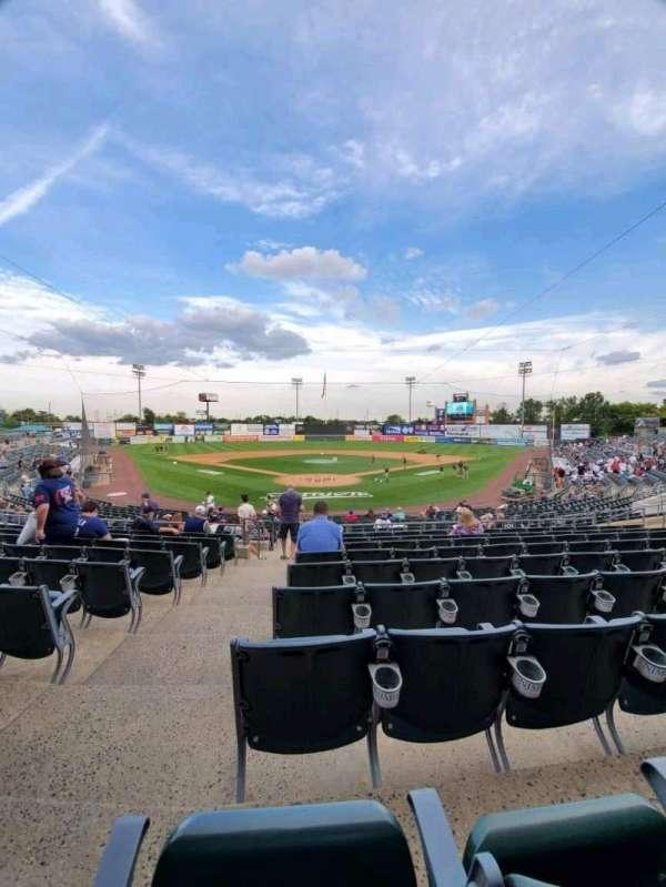 TD Bank Ballpark, secção: 201, fila: S, lugar: 16