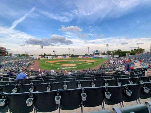 TD Bank Ballpark, secção: 201, fila: S, lugar: 10