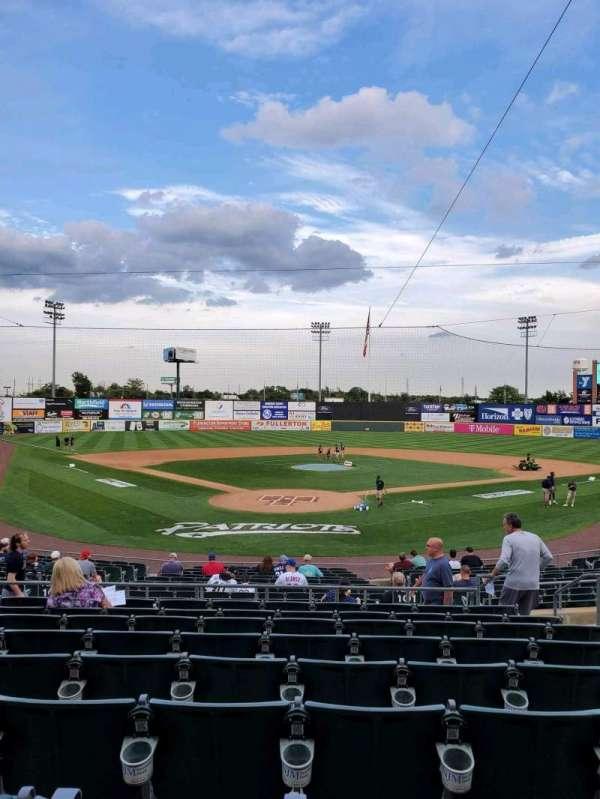 TD Bank Ballpark, secção: 201, fila: S, lugar: 6
