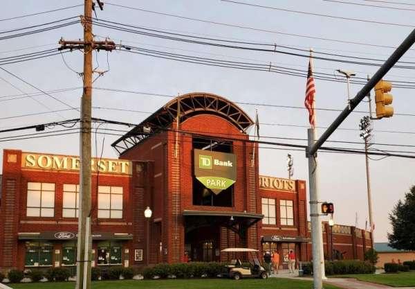 TD Bank Ballpark, secção: Main Entrance