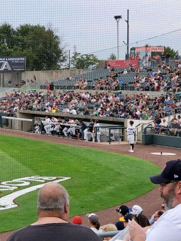 TD Bank Ballpark, secção: 206, fila: K, lugar: 10