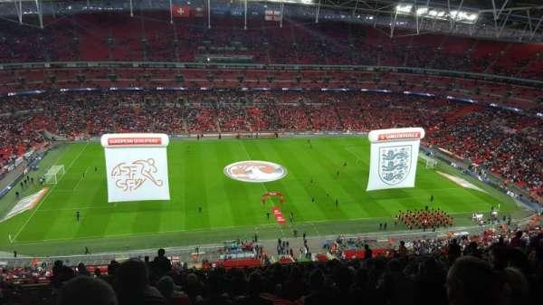 Wembley Stadium, secção: 502, fila: 26, lugar: 39