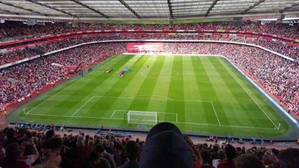 Emirates Stadium, secção: 123, fila: 22, lugar: 894