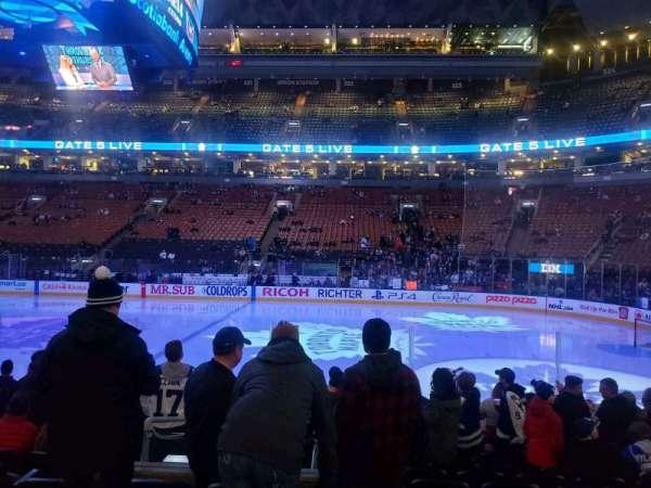 Scotiabank Arena, secção: 107, fila: 11, lugar: 10