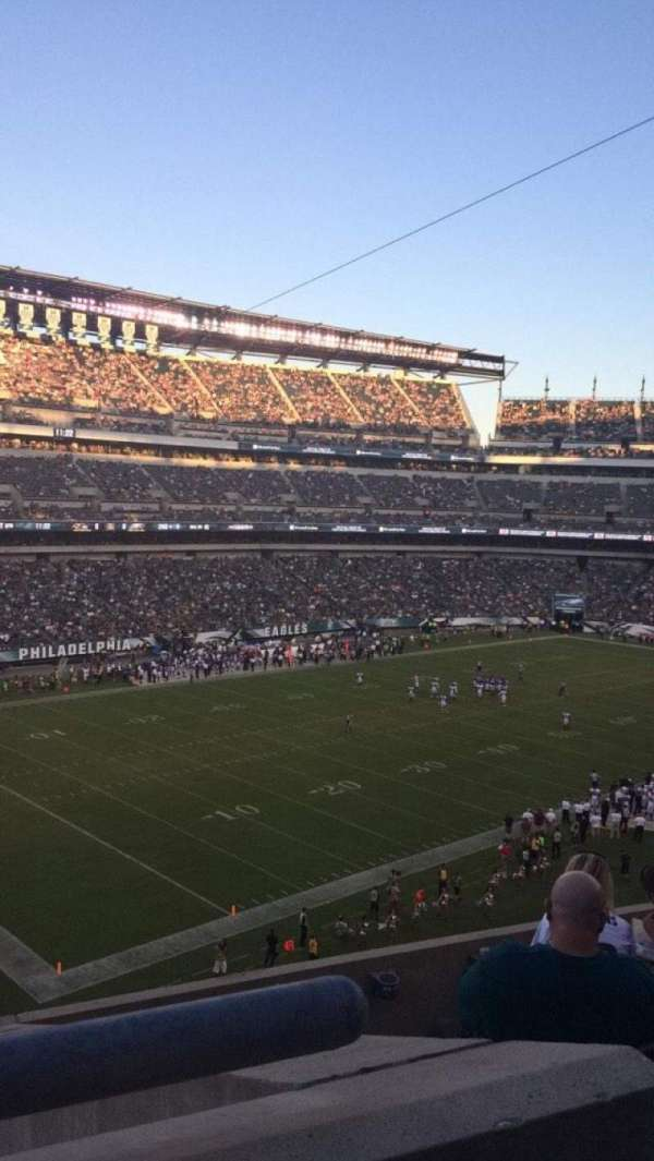 Lincoln Financial Field, secção: C35, fila: 10, lugar: 14