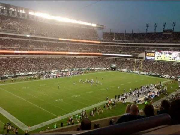Lincoln Financial Field, secção: C35, fila: 10, lugar: 15