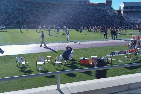 Bobby Bowden Field At Doak Campbell Stadium, secção: 12, fila: 3, lugar: 1
