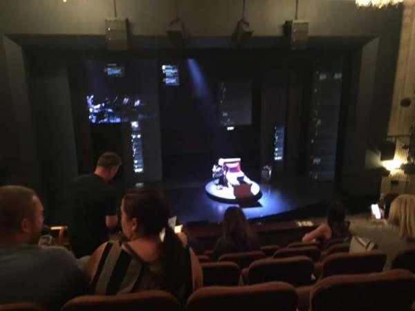 Music Box Theatre, secção: Mezzanine C, fila: E, lugar: 108