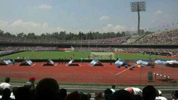 Estadio Olímpico Universitario, secção: Planta Baja
