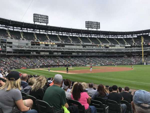 Guaranteed Rate Field, secção: 116, fila: 10, lugar: 7