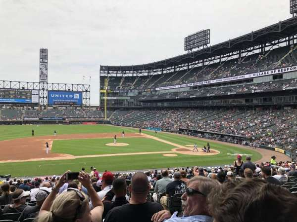 Guaranteed Rate Field, secção: 140, fila: 32, lugar: 2