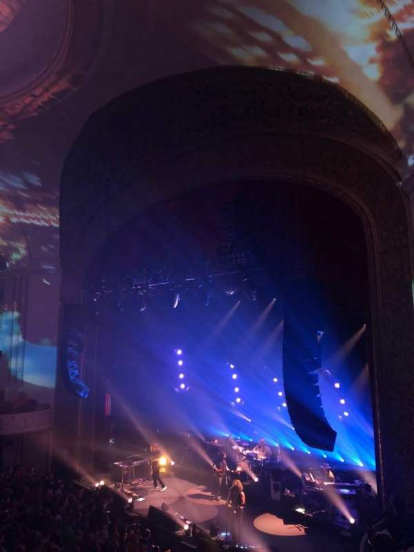 Capitol Theatre (Port Chester), secção: Loge Right, fila: BB, lugar: 20