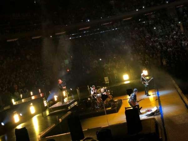 Madison Square Garden, secção: 115, fila: 7, lugar: 6