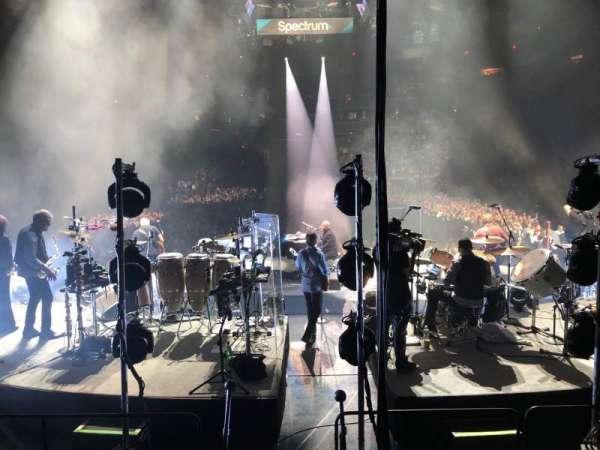 Madison Square Garden, secção: 112, fila: 6, lugar: 7